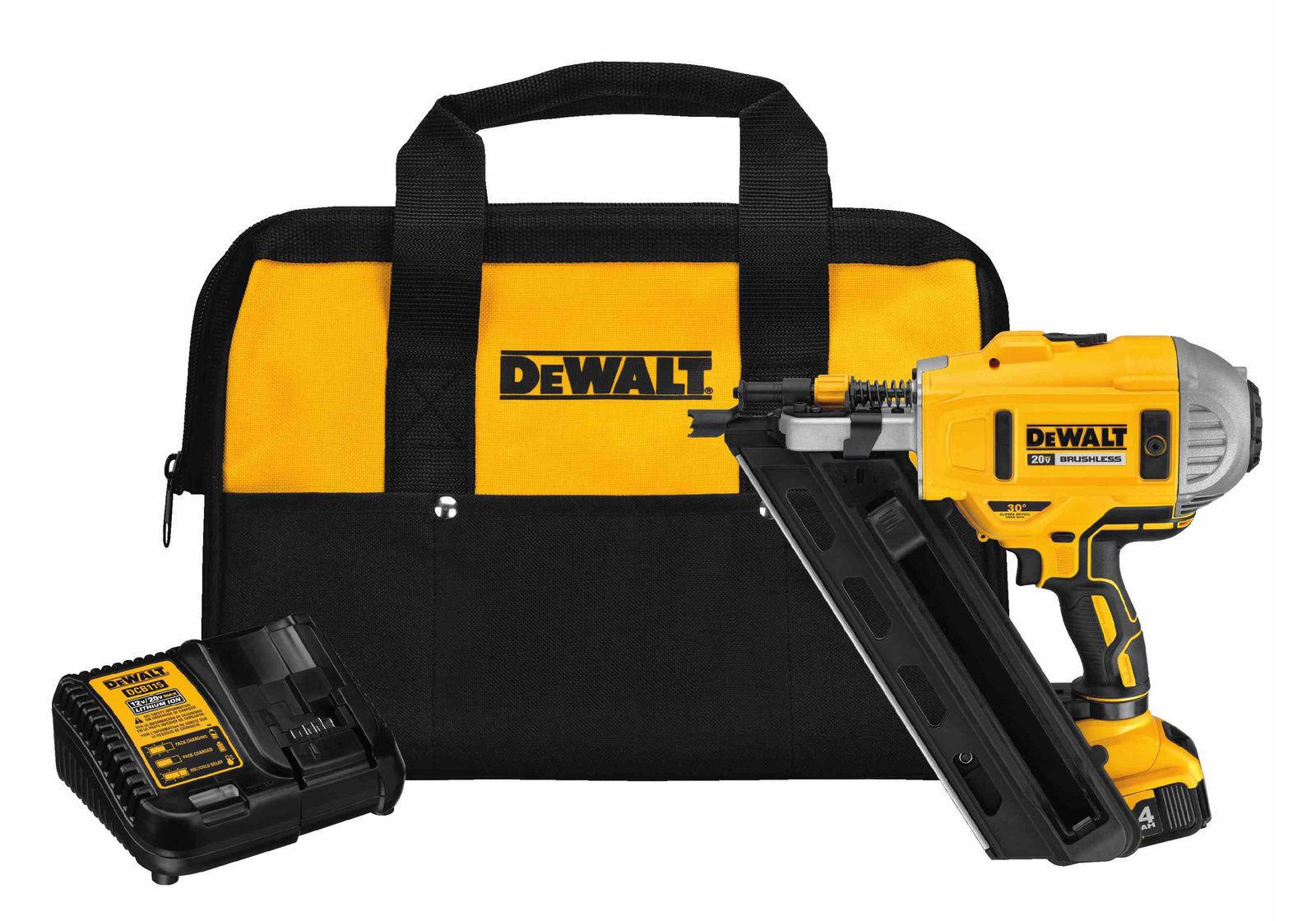 DEWALT DCN692M1 20V Cordless Nailer Kit | eBay