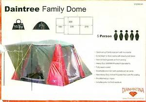 "Diamantina Family Dome Tent - sleeps 5 - ""Daintree"" Panania Bankstown Area Preview"