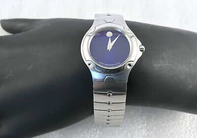 Movado Sports Edition Blue Dial 27mm Swiss Watch