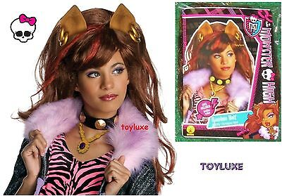 Monster High CLAWDEEN WOLF Fashion Dress Up CHILD WIG Halloween Costume Hair NEW (Monster High Dress Up Clawdeen Wolf)