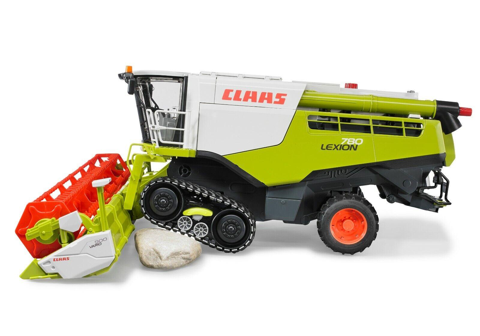 Bruder 02119 Claas Lexion 780 Terra Trac Mähdrescher Spielzeug Traktor Ernte