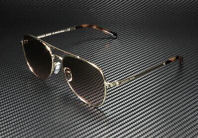 MICHAEL KORS MK1045 101411 San Diego Light Gold Brown Pink 56mm Women Sunglasses