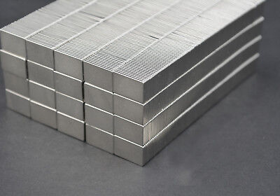 10 Square Magnets 34 X 12 X 116 Strongest N52 Neodymium - Us Seller