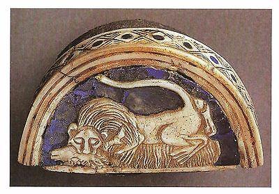 Postcard Royal Cemetery Ur (Iraq) Lion & Caprid Box Lid Univ of PA Museum MNT Mnt Box