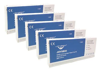 50x JOYSBIO Covid-19 Antigen-Schnelltest Corona Spucken Spucktest BfArM selber