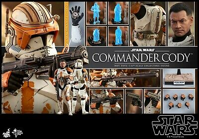 "Hot Toys 1/6 Star Wars:Episode III Revenge of the Sith Commander Cody 12"" Figure"