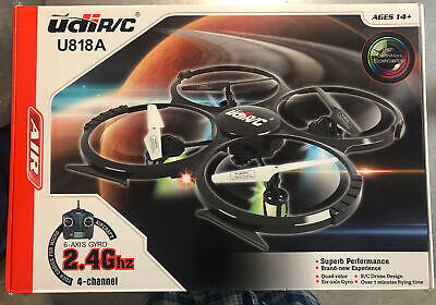 UDI U818A Camera UAV for Kids - HD 4-Axle RC Quadcopter Drone for Beginners US ~
