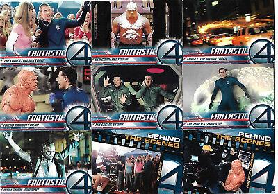 Fantastic 4 Movie Complete 100 Base Card Set Upper Deck 2005