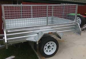 7x5 Gal trailer cage, spare.Comes in 6x4,7x4 Heavy Duty Rego incl Dapto Wollongong Area Preview