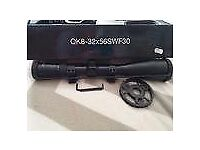 BSA Air Rifle Scope Quarry King 8-32x56 with Mil dots