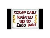 Wanted for cash. Immediate collection