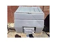 extra large grey coal bunker £45.00 can deliver anywhere