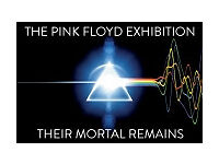 4 Tickets for Pink Floyd exhibition at V&A
