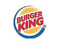 Burger King Crew Members Wanted for Straiton, Loanhead Edinburgh