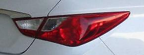 2011 to 2014 Hyundai Sonata Right Passenger Side OE, OEM Outer Tail Light, Tail Lamp Used - Clean & Undamaged