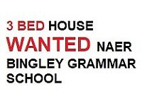 3 Bed House Wanted from 1 November
