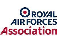 RAF Association - Volunteer Events Assistant - Kenley & Caterham Branch