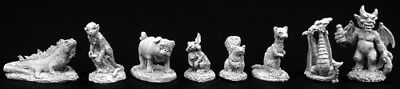 Reaper Miniatures Familiar Pack IV #02756 Dark Heaven Legends Unpainted -