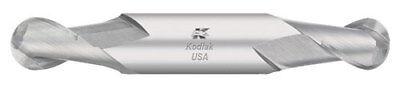 Kodiak 332 Dia Stub Ball Nose Double-end Carbide End Mill 2 Flute Made In Usa