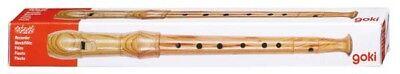 Flöte Blockflöte für Kinder aus Holz goki 30cm Musikinstrument für Kinder