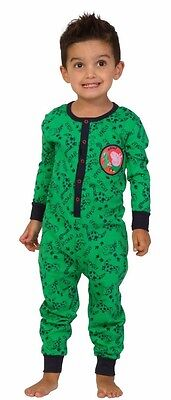 Dinosaur Peppa Pig Romper 2 to 5 Years George Pig All In One Sleepsuit - George Pigs Dinosaur