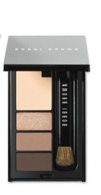 Bobbi Brown Mini Eye Palette NEW Shadow Liner Brush Great W/ Lipstick Blush Gel