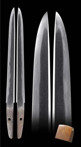 Edo YOROIDOSHI ARMOR PIERCER TANTO Signed Japanese Samurai Dagger Sword