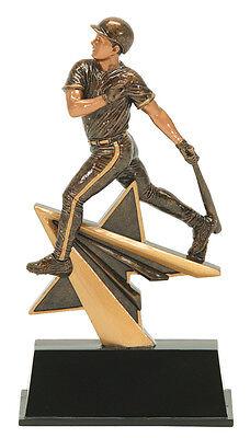 Male Baseball Resin Trophy (7