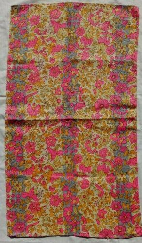 Vintage Vera Linen Tea Towel Floral Birds
