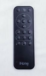 iHome Rz1 Remote Control Original Alarm Clock iPod Dock For IP49 IP90 Black