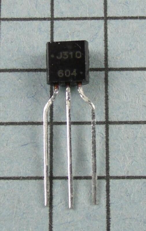 J310 N-Channel JFET TO-92 : 5pcs per Lot