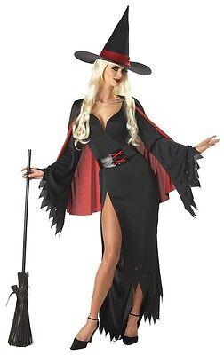 Sexy Dark Gothic Scarlet Witch Adult Costume](Dark Witch Costume)