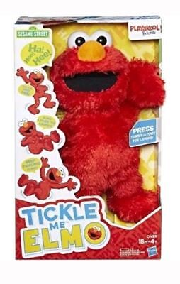 Nib 2017 Sesame Street Hasbro Playskool Friends Tickle Me Elmo  No Tax