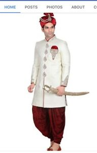 Indian pakistani ladies Mens clothing on rent lehnga Sherwani