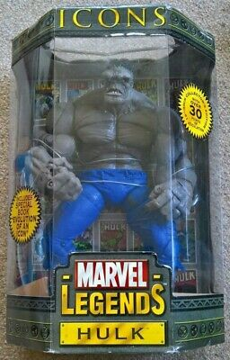 MARVEL LEGENDS Icons Incredible Hulk Gray variant 12 inch scaled rare figure