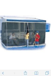 8 ft Screen Room for tent trailer.