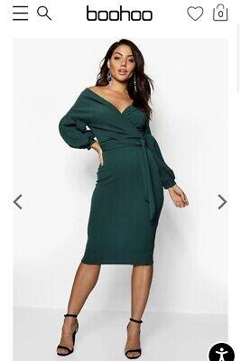 Boohoo Off The Shoulder Dress Size 4