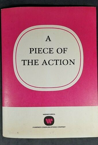 Movie Press Kit - RARE - A Piece of the Action - Sidney Poitier 1977  MrSTUFF