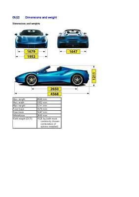 FACTORY Ferrari 488 Spider Workshop Manual