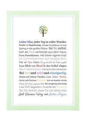 Taufe Geschenk Junge Personalisiert Taufgeschenk Baby Gastgeschenk Deko Bild