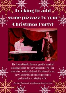 Jazz Duo (Vocals and Piano) Christmas Entertainment