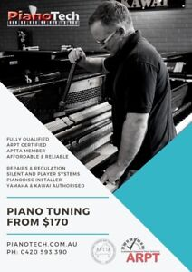 Piano Tuning by QUALIFIED Tuner | APTTA Member | Perth | Mandurah Canning Vale Canning Area Preview