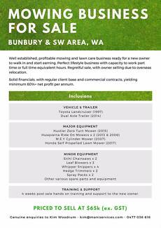 Business For Sale - Mowing & Lawn Care Business