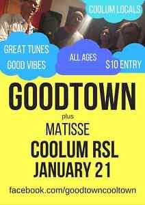 Sunshine coast local musicians saturday gig Coolum Beach Noosa Area Preview