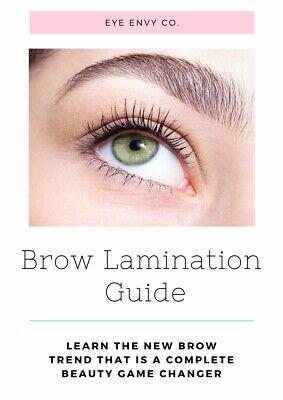 Brow Lamination Online Course PLUS Full Starter - Make Up Kit Online