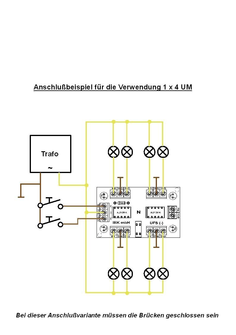 universal fernschalter ufs relais bistabil 1x4 oder 2x2 um relaisplatine eur 14 50. Black Bedroom Furniture Sets. Home Design Ideas