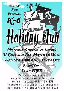 Kids Holiday Club Mayfield West Newcastle Area Preview