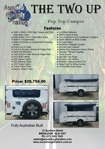 The Two Up Pop Top Camper Trailer Beenleigh Logan Area Preview