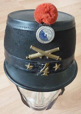 Tschako, Artillerie, Schweiz Modell 1898.