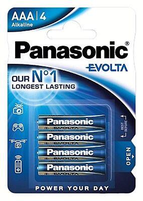 20 x Panasonic Evolta 1,5V AAA / Micro/ LR03 / Mn2400  Alkaline Batterie